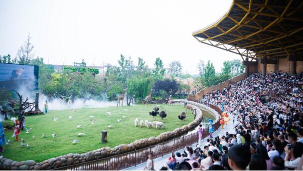 郑州银基动物王国,让带孩子旅